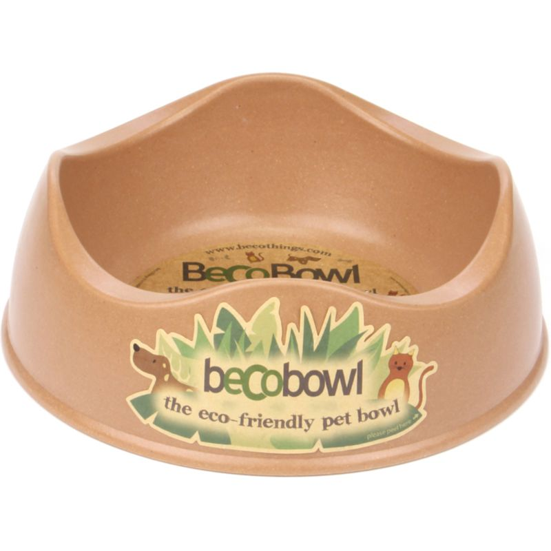 Beco Bowl great for big salads and pellets in brown
