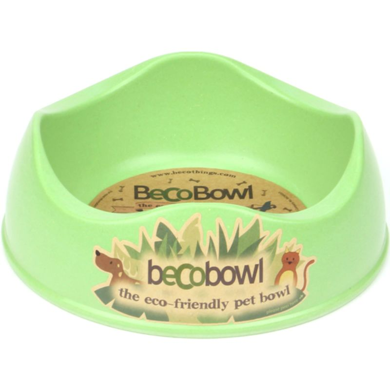 Beco Bowl great for small salads and pellets in green