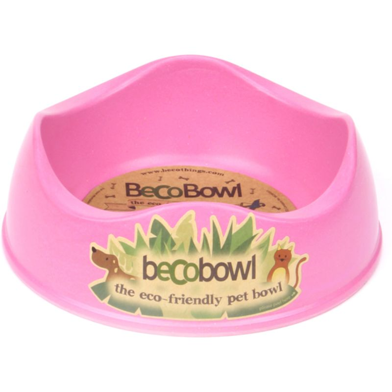 Beco Bowl great for small salads and pellets in pink