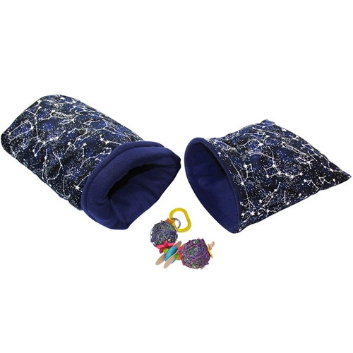 Small Constellations Cozies and Toy Bundle for Guinea Pigs and Other Small Animals