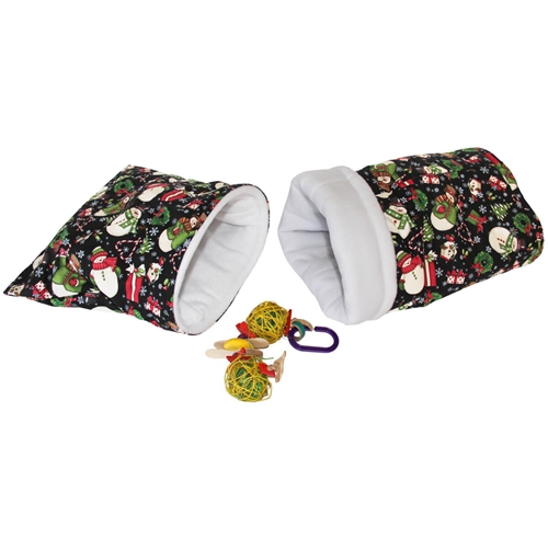 Small Frosty Friends Bed and Toy Bundle for Guinea Pigs and Other Small Animals