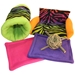 Large Rainbow Zebra Bed and Toy Bundle for Guinea Pigs