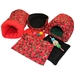 Deluxe Strawberry Fields Bed and Toy Bundle for Guinea Pigs