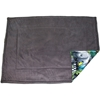 Guinea Pig Cage Liner for C&C Cage in 2x3 in Jungle fleece pattern - showing the charcoal side