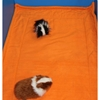 Guinea Pig Cage Liner for C&C Cage in 2x3 in orange fleece