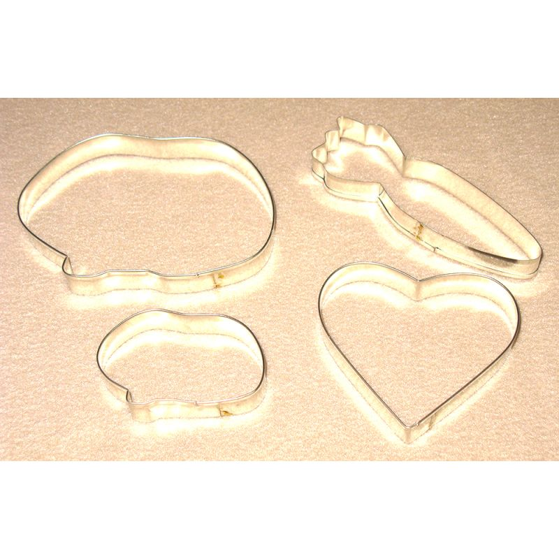 Guinea Pig Cookie Cutter, Delux Set