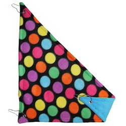 Corner Hammock in Bold Dots Blue
