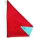Corner Hammock in Red/Turquoise