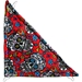 Corner Hammock in Sugar Skulls Red