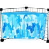 Corner Curtain in Blue Camo