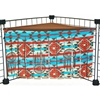 Corner Curtain in Native American