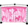 Corner Curtain in Pink Camo