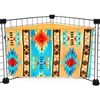 Corner Curtain in Tribal