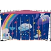 Corner Curtain in Unicorns