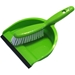 Dustpan and Broom in Lime