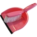 Dustpan and Brush in Pink