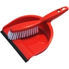 Dustpan and Broom in Red