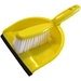 Dustpan and Brush in Yellow