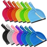 Dustpans and Broom in Assorted Colors