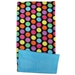 Bold Dots Blue Fleece Flipper Case