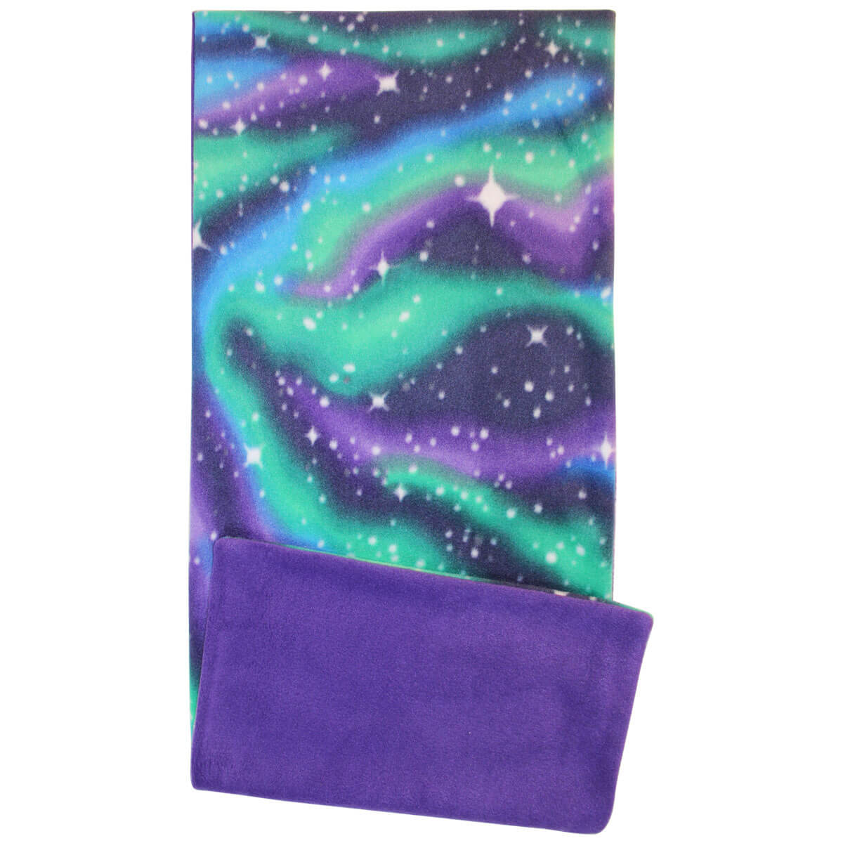 Northern Lights Fleece Flipper Case