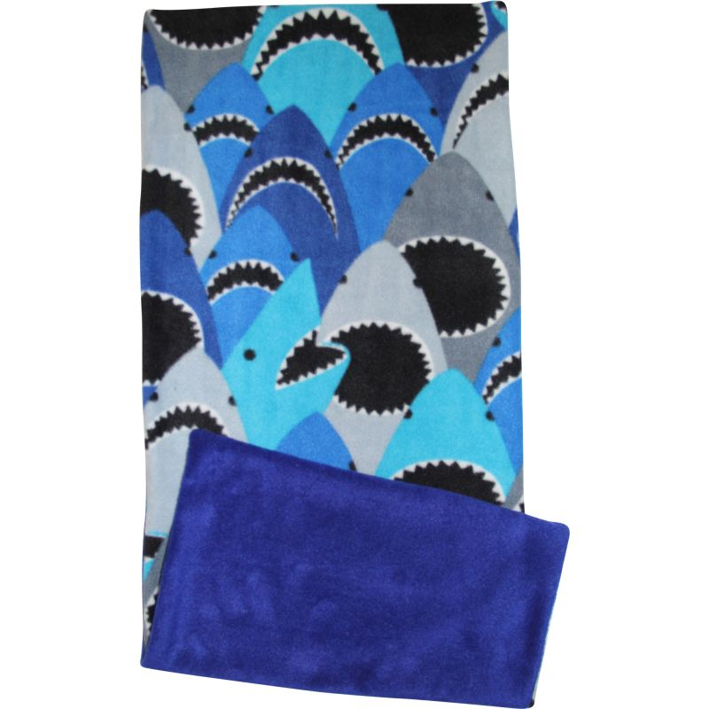 Sharks Fleece Flipper Set