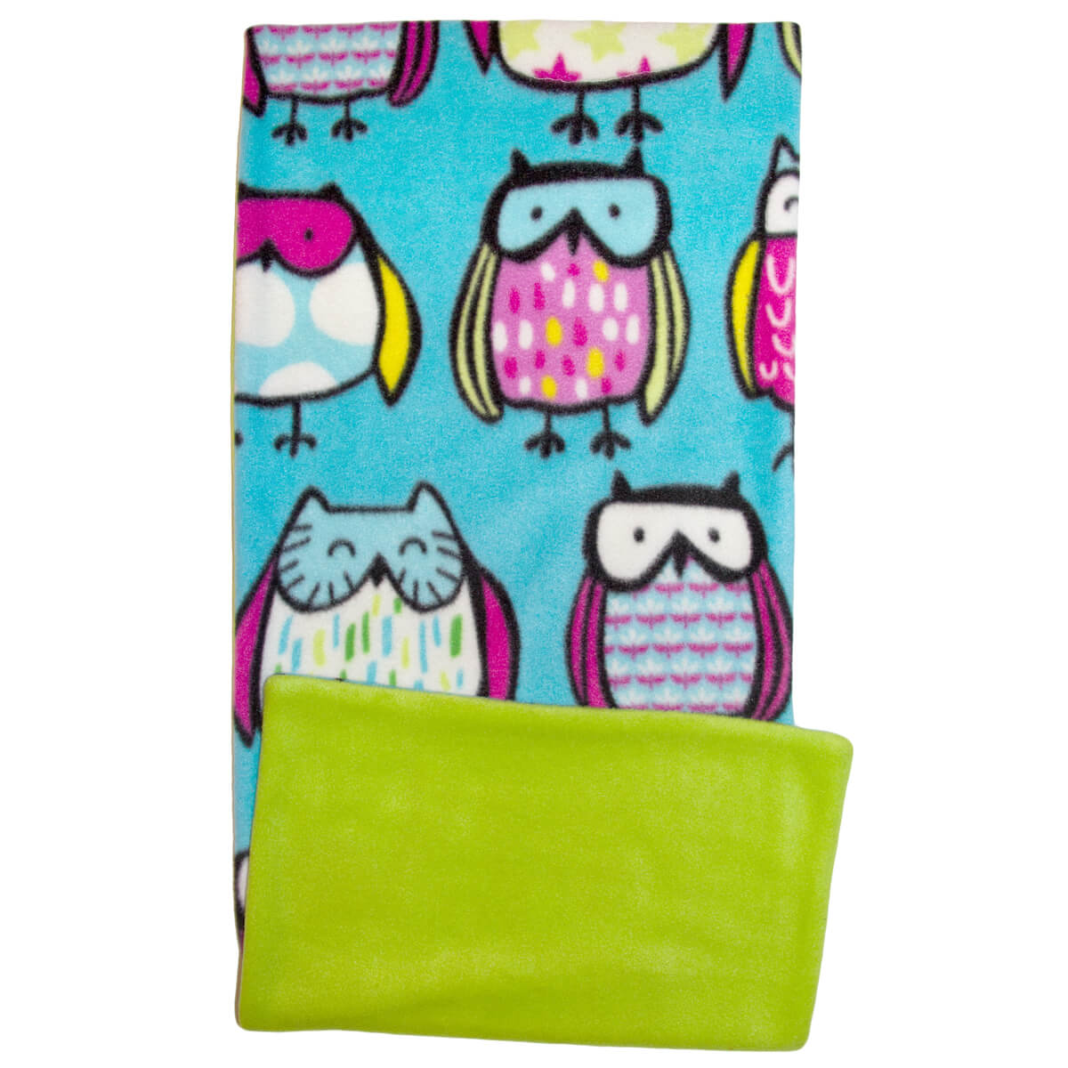 Sketched Owls Fleece Flipper Set
