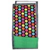 Bold Dots Green Fleece Flipper Set