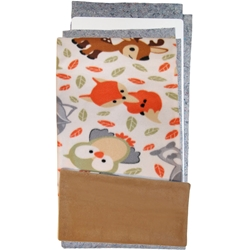 Forest Friends Fleece Flipper Set