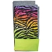 Rainbow Zebra Fleece Flipper Set
