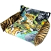 Flippin' Fun Futon in Jungle Animals with Tiger