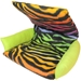 Flippin' Fun Futon in Rainbow Zebra