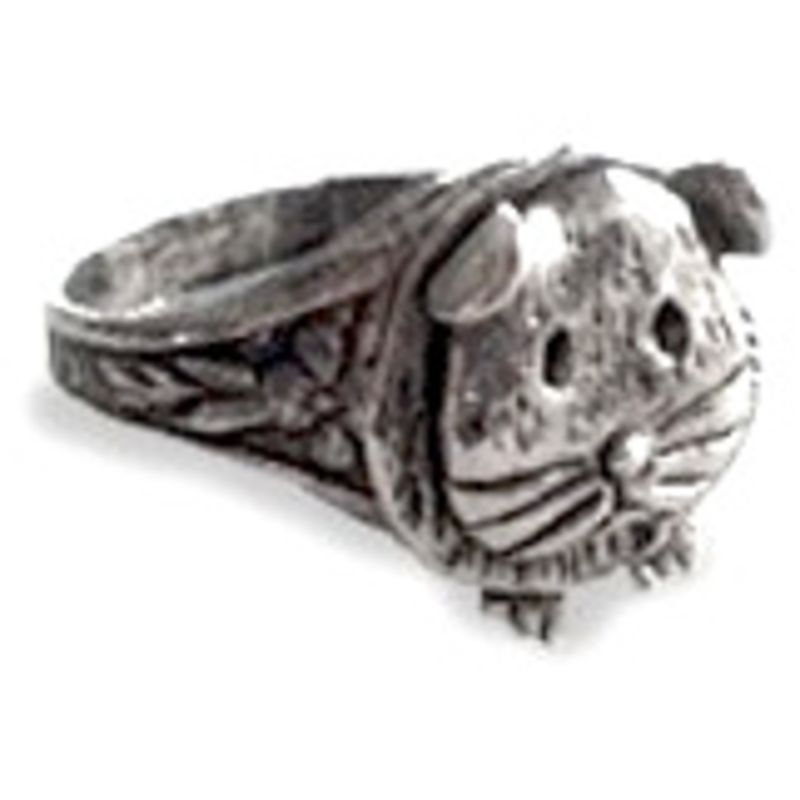 Guinea Pig Ring - Pewter