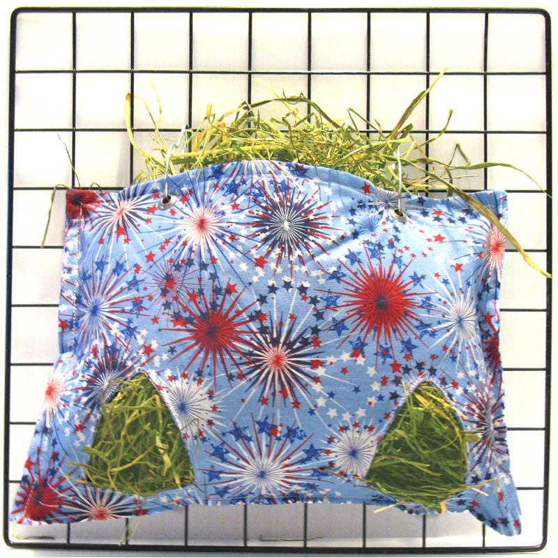 Haybag in Fireworks fabric