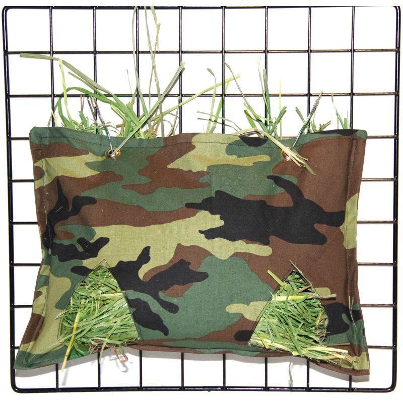 Hay Bag in Green Camo