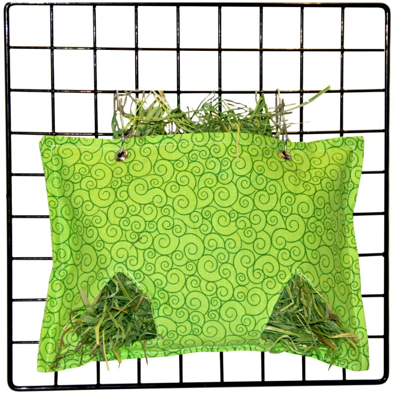 Haybag in Lime Swirl for guinea pigs