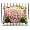 Pink Flowers Heavenly Hay Bag