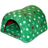 Hidey Hut in Christmas Dots