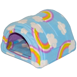 Hidey Hut in Rainbows