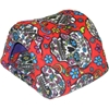 Hidey Hut in Sugar Skulls Red