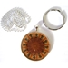 Golden Agouti Guinea Pig Pendant and Keyring
