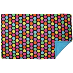 Lap Pad in Bold Dots Blue