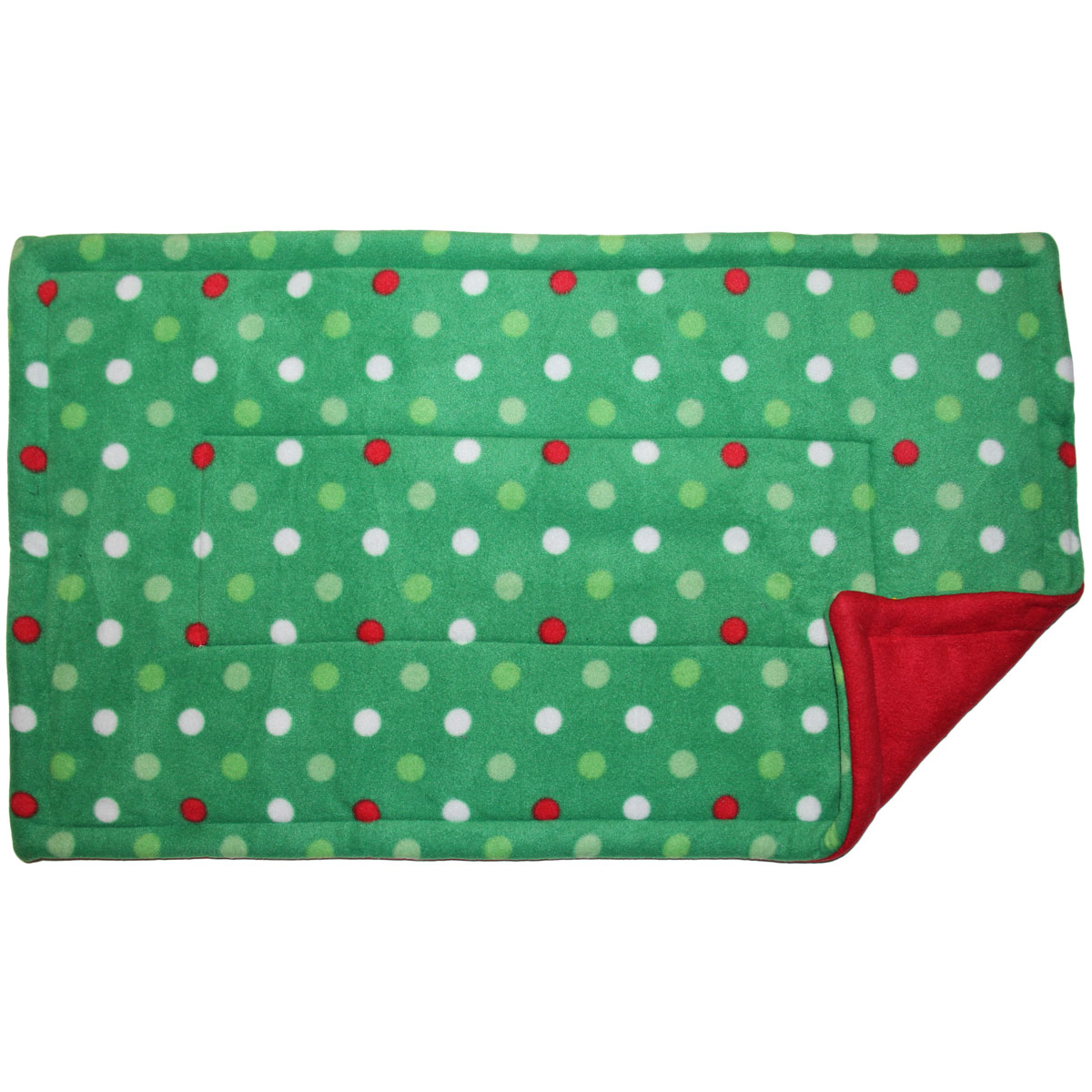 Lap Pad in Christmas Dots