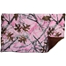 Lap Pad in Pink Forest