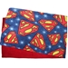 Guinea Pig Cage Liner for C&C Cage in 2x6 in Superman fleece pattern