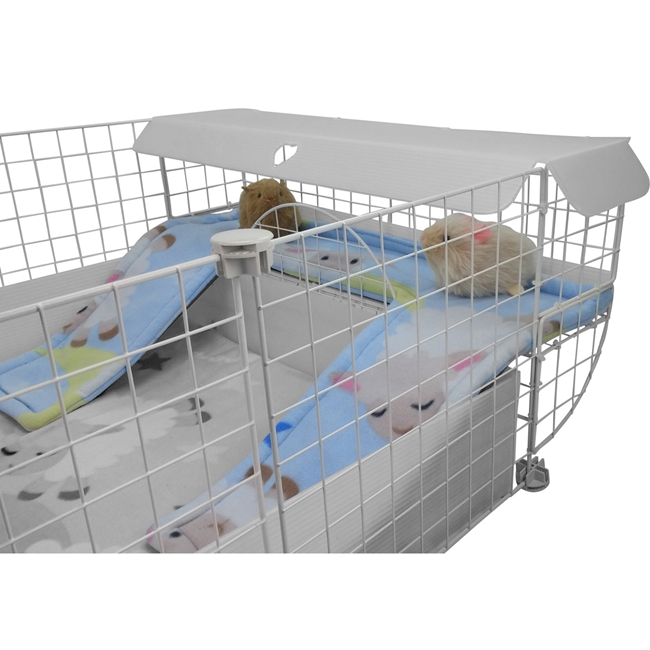 Guinea Pig Cage Liner for Lookout Lounge in Sheepy Time