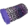 Magic Muff in Purple Leopard