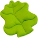 Lime Green Lettuce Plush Bed