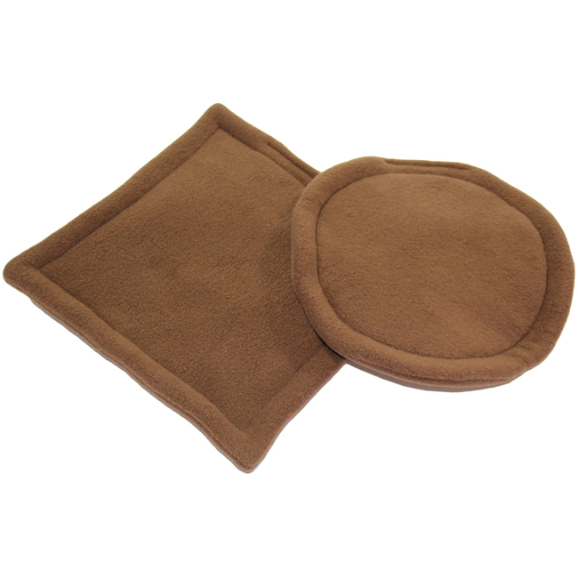 "Clearance Brown Potty Pads - 9.5"" and 10""x10"""