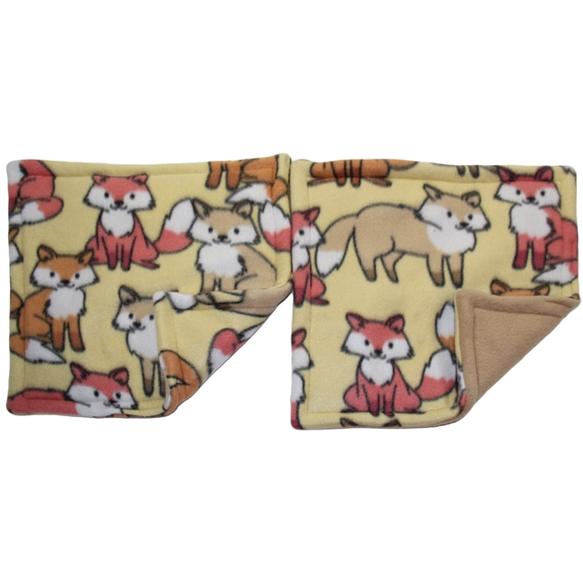 "Clearance 13""x13"" Foxes Potty Pad Bundle"
